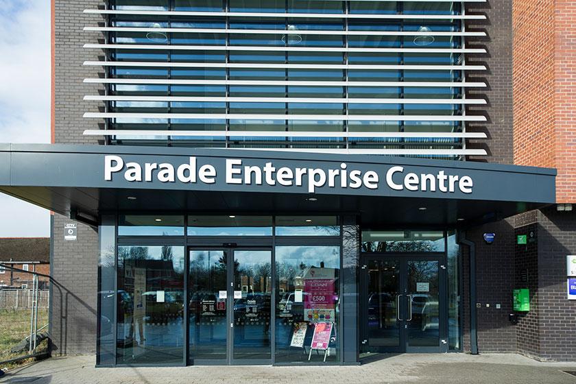 Paradise Enterprise Centre in Blacon