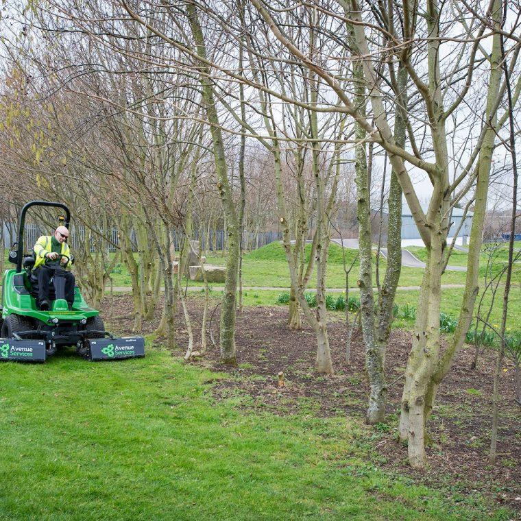 Winter grounds maintenance service getting underway