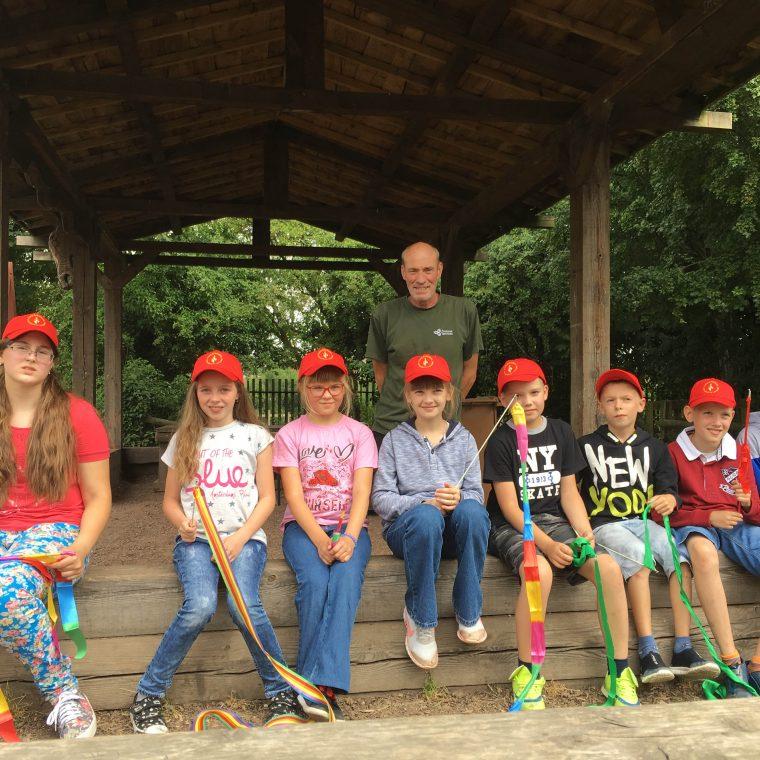 Chernobyl children enjoy visit to Blacon Adventure Playground