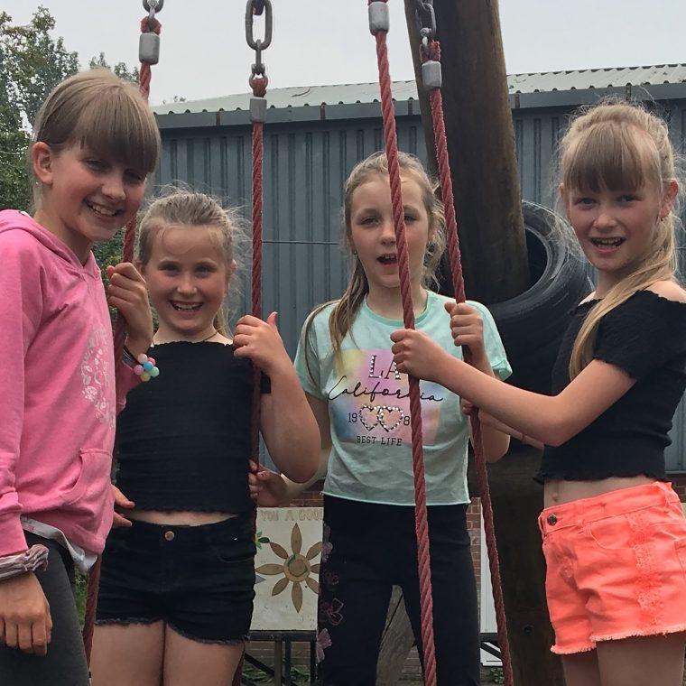 Chernobyl children visit Blacon Adventure Playground